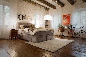 łóżko preppy